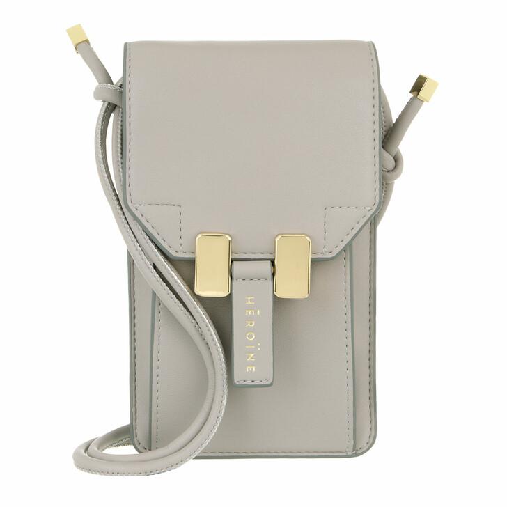 smart_cases, Maison Hēroïne, Romy Phone Bag Cashmere Grey