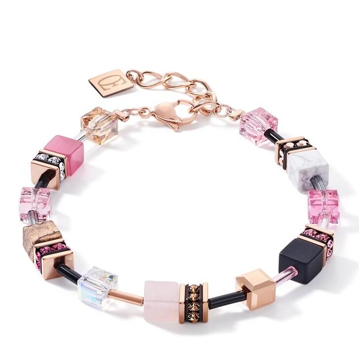 bracelets, COEUR DE LION, Bracelet Rosa-Beige