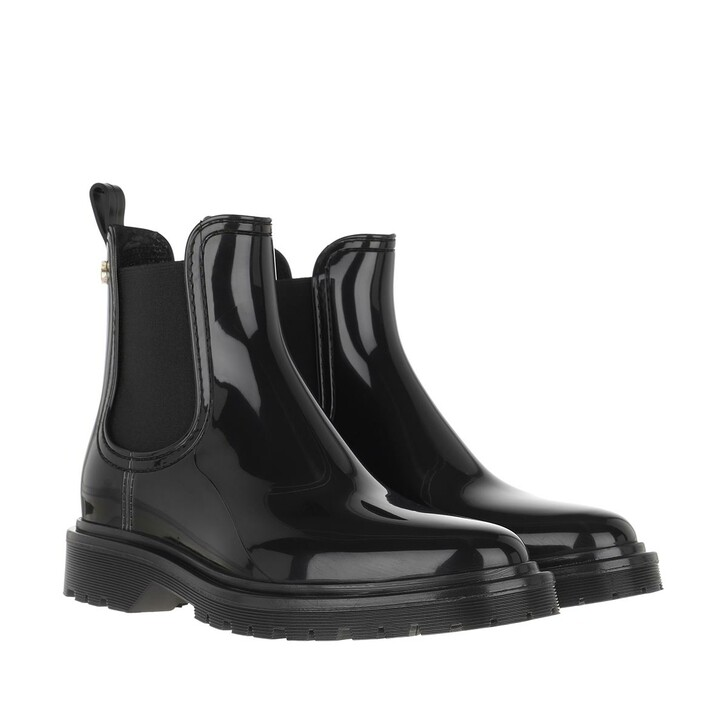 shoes, Lemon Jelly, Block Chelsea Boot Black