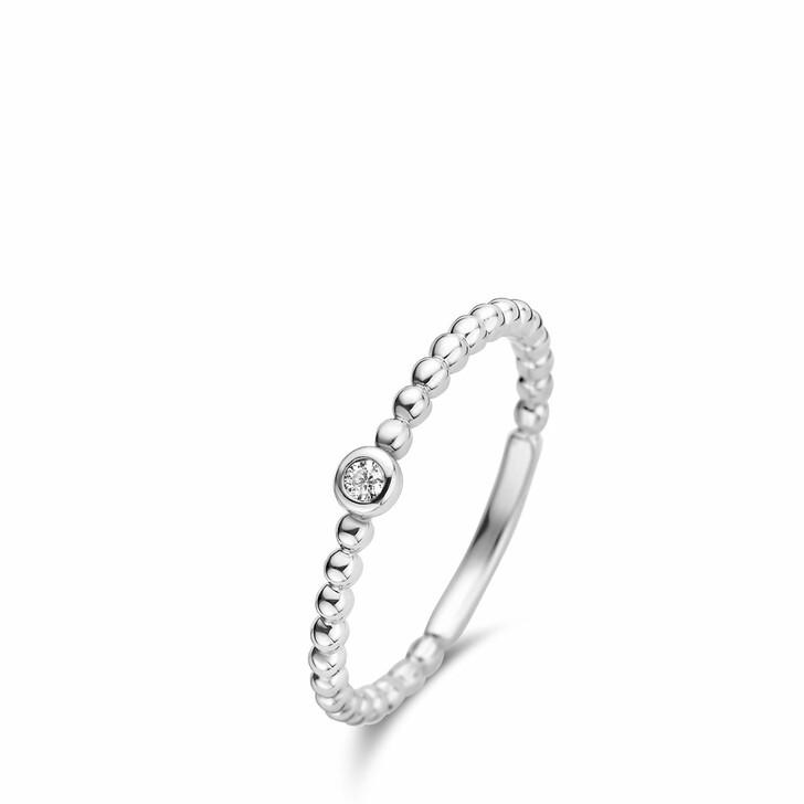 rings, Isabel Bernard, Saint Germain Clément 14 Karat Ring With Zirconia