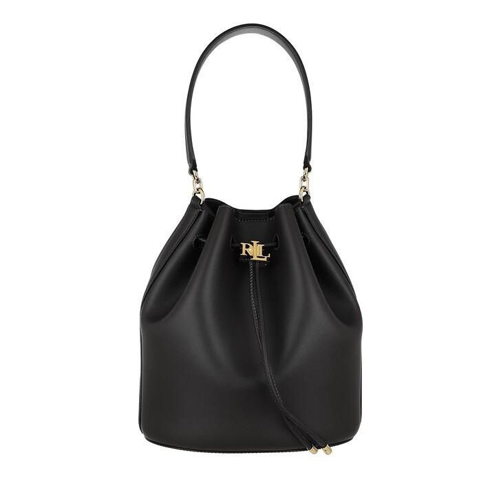 bags, Lauren Ralph Lauren, Andie 25 Drawstring Large Black