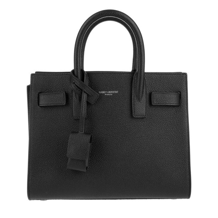 Handtasche, Saint Laurent, Sac de Jour Nano Tote Nero