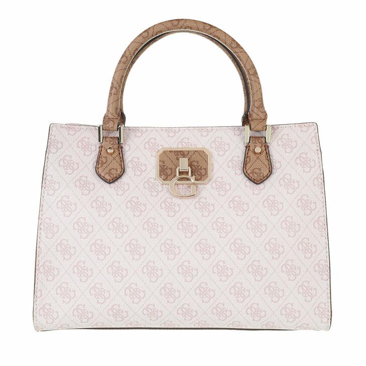 bags, Guess, Alisa Girlfriend Satchel Powder Latte