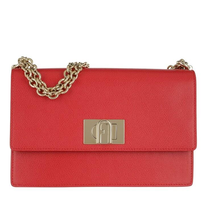 Handtasche, Furla, Furla 1927 S Crossbody 24 Ruby