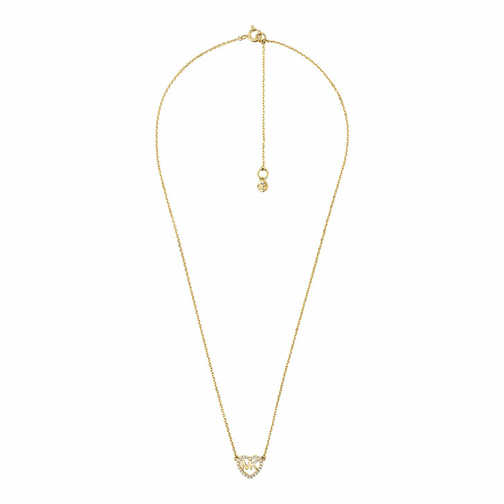necklaces, Michael Kors, MKC1244AN710 Hearts Necklace Gold