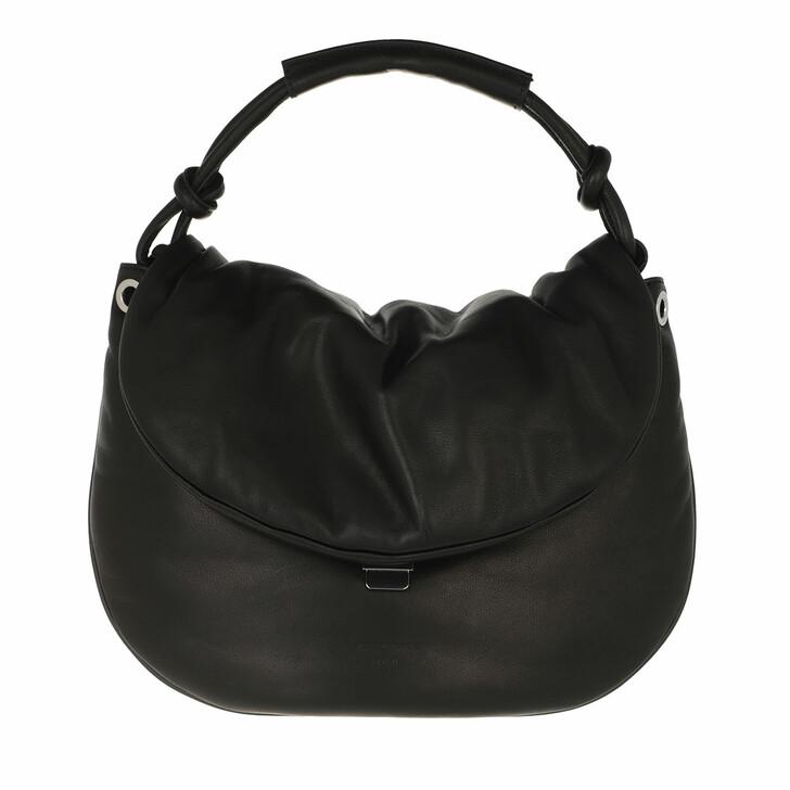 bags, Tiger of Sweden, Paddila Small Leather Handbag Black