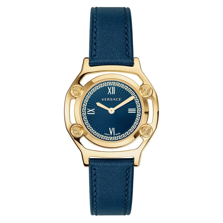 Uhr, Versace, Medusa Frame Watch Blue
