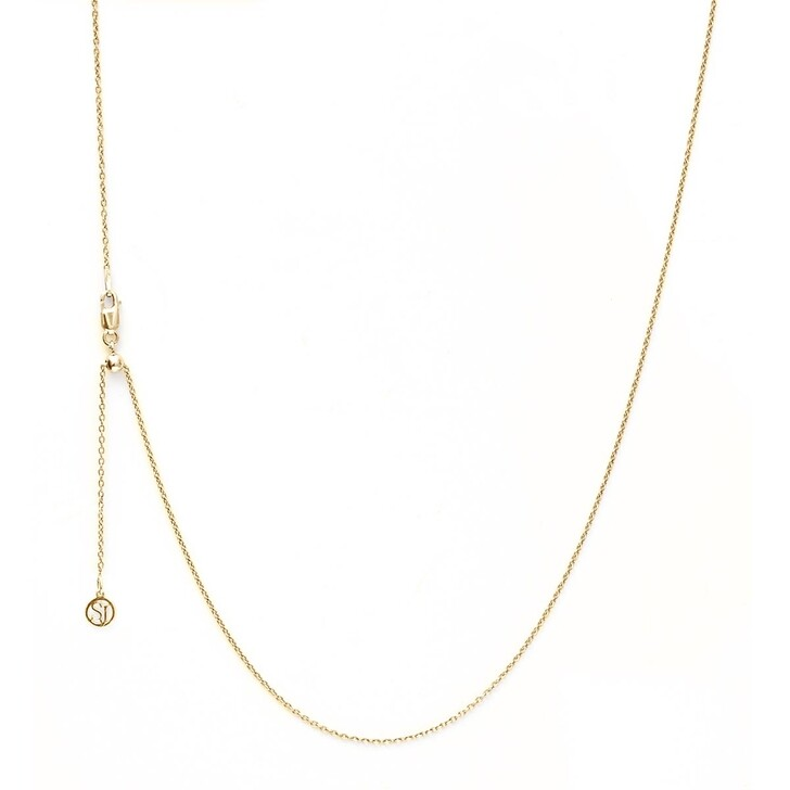 Kette, Sif Jakobs Jewellery, Anchor Chain Adjustable 70/90 cm Yellow Gold