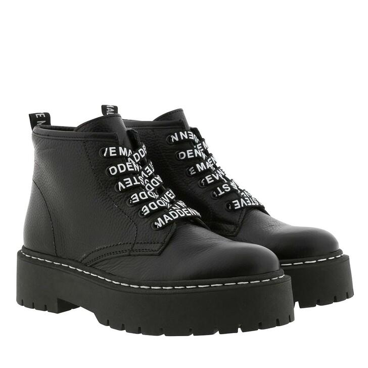 shoes, Steve Madden, Vlais Bootie Black
