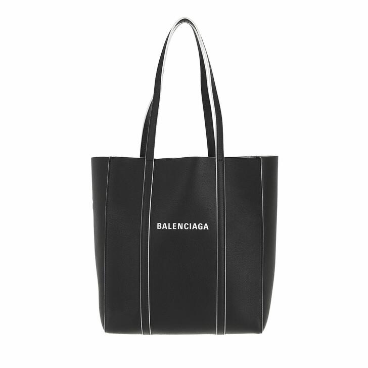 bags, Balenciaga, Everyday XS Tote Black