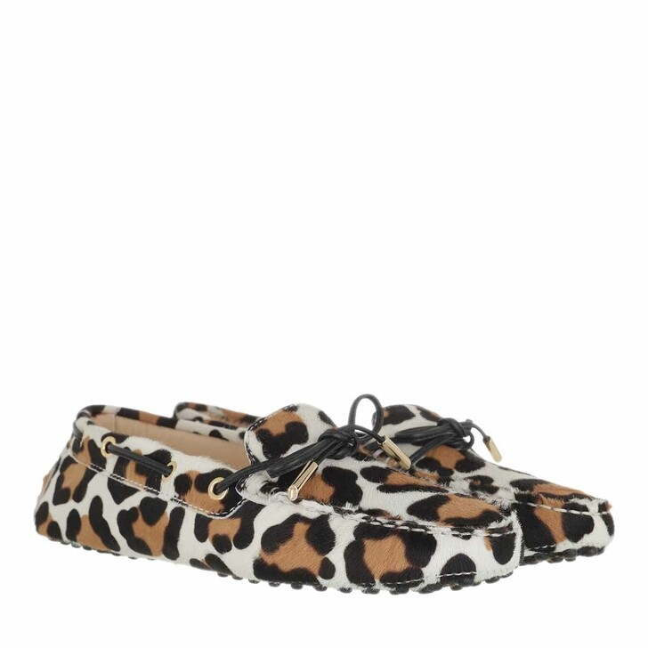 Schuh, Tod's, Gommino Loafer Suede Leo Multi