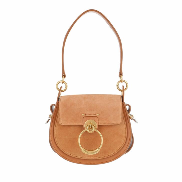 Handtasche, Chloé, Tess Shoulder Bag Small Arizona Brown