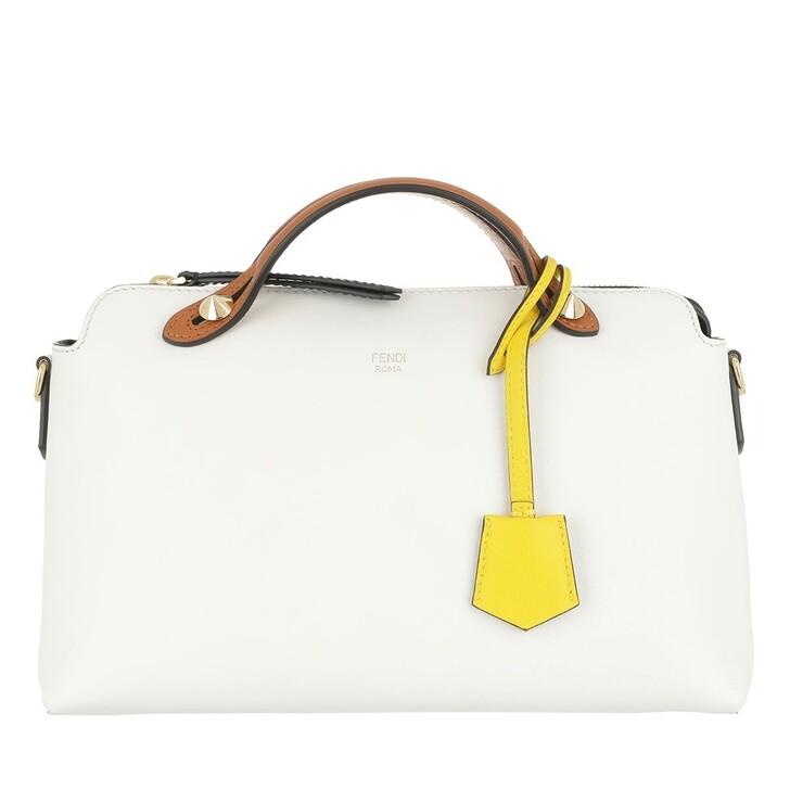 Handtasche, Fendi, By The Way Shoulder Bag Calfskin White Lime