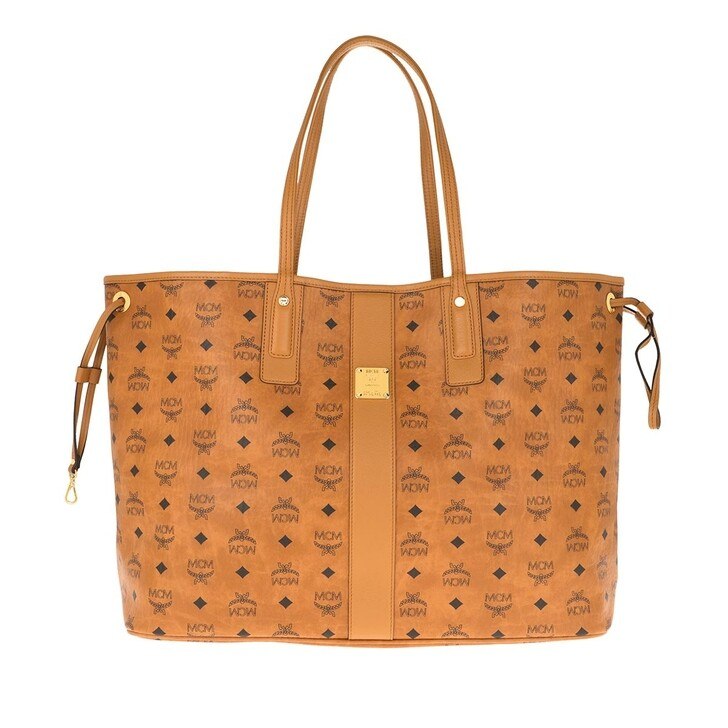 Handtasche, MCM, Liz Shopper Large Cognac