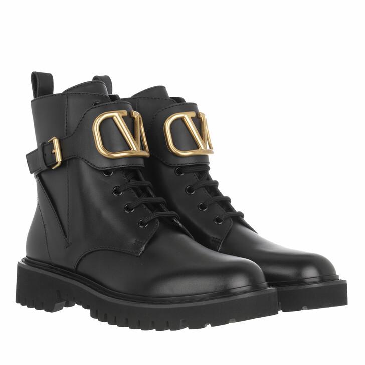 shoes, Valentino Garavani, V Logo Ankle Boots