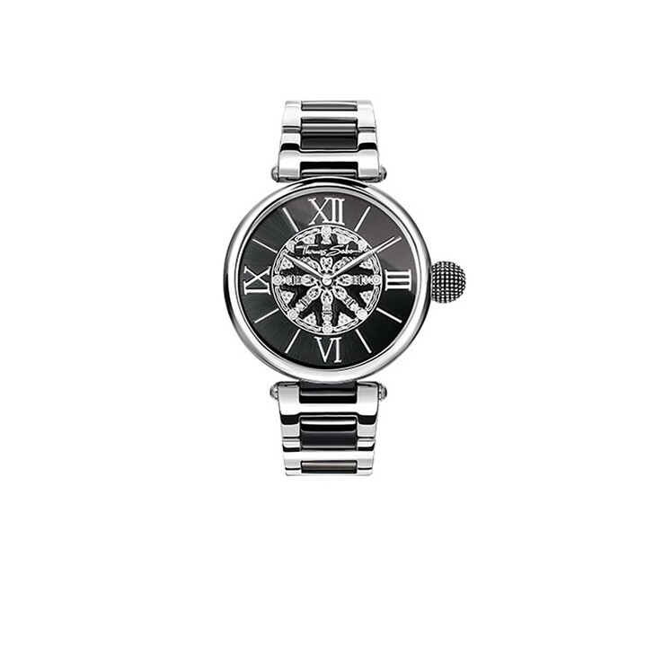 Uhr, Thomas Sabo, Watch Karma Black/Silver