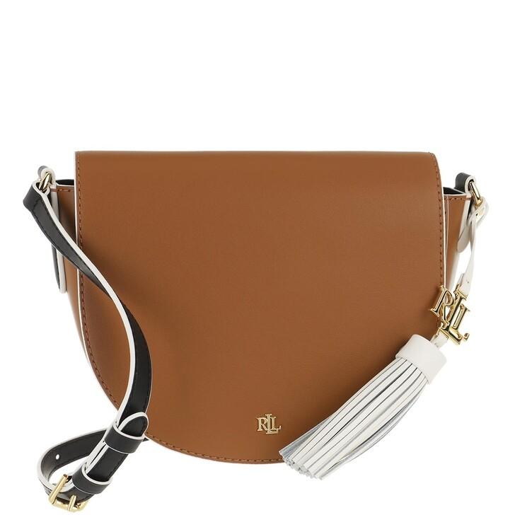 Handtasche, Lauren Ralph Lauren, Witley 20 Crossbody Medium Lauren Tan/Black/Vanilla