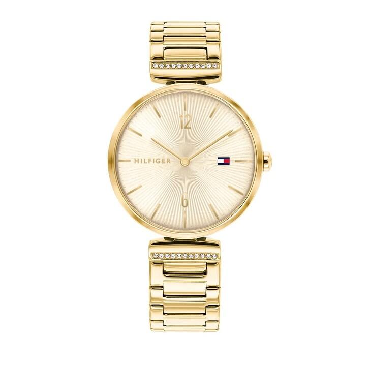 Uhr, Tommy Hilfiger, wrist watch Gold
