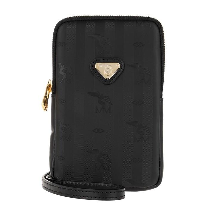 smart_cases, Maison Mollerus, Wildhorn Smartphone Pouch Black/Gold