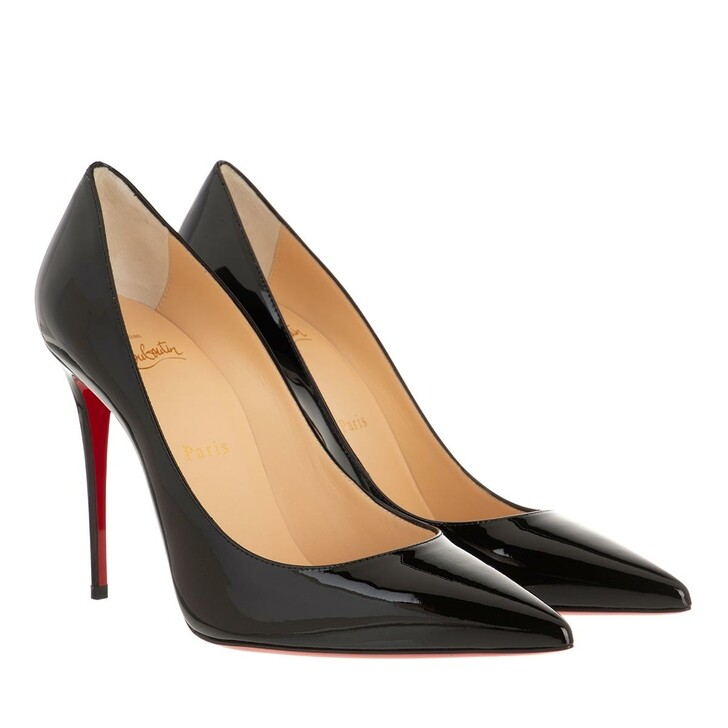 Schuh, Christian Louboutin, Kate 100 Pumps Patent Leather Black