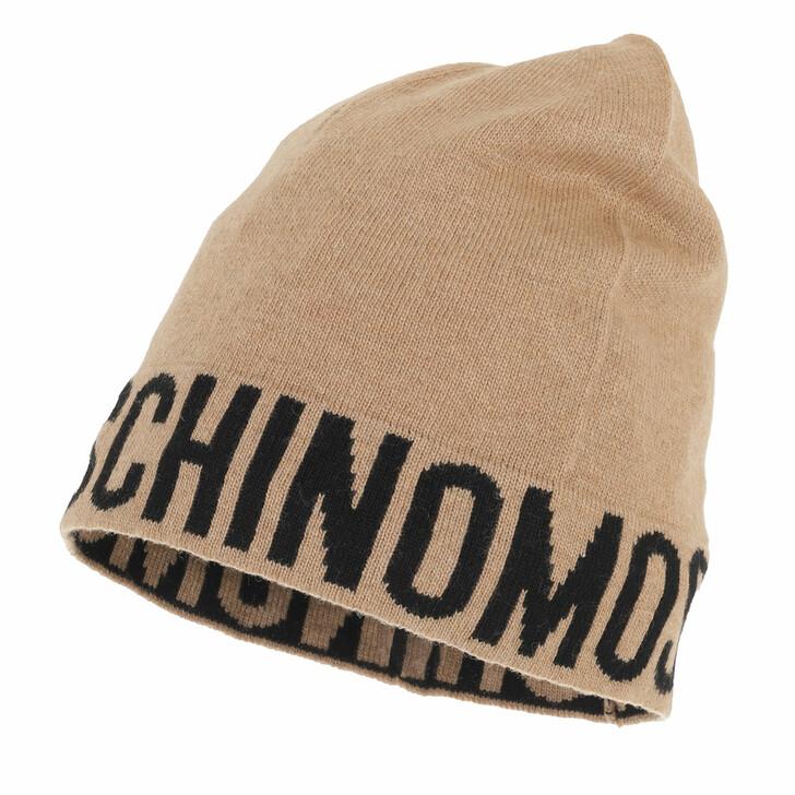 hats, Moschino, Hat Beige