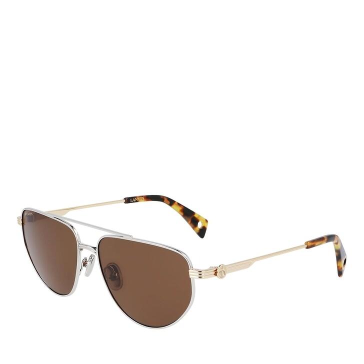 sunglasses, Lanvin, LNV105S SILVER/GOLD/BROWN