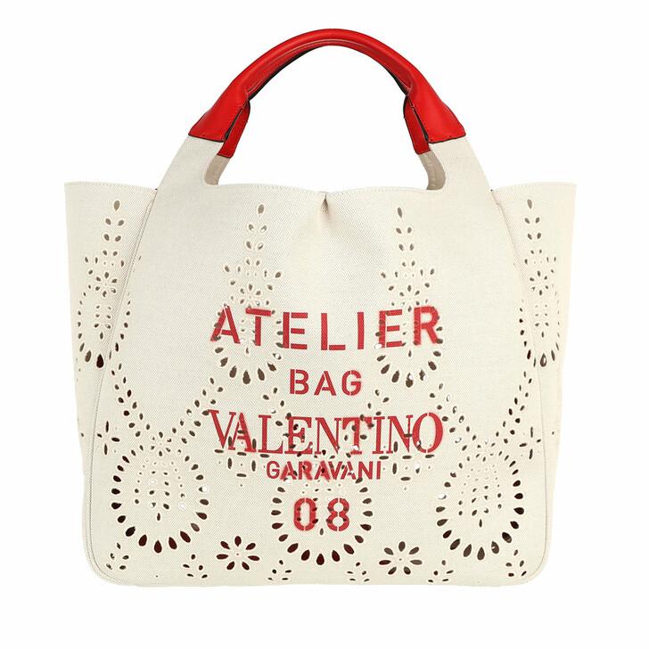 bags, Valentino Garavani, Shoulder Bag Natural