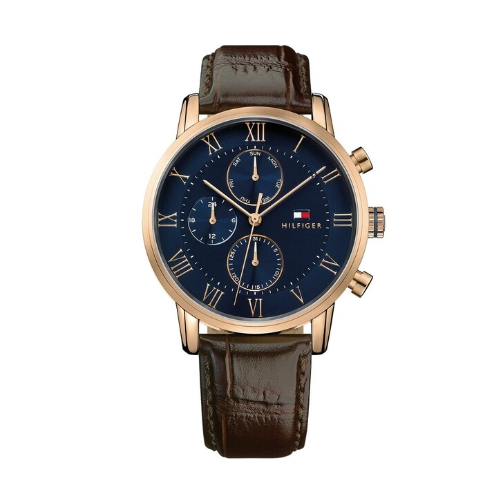 Uhr, Tommy Hilfiger, Multifunctional Watch Dressed Up 1791399 Brown