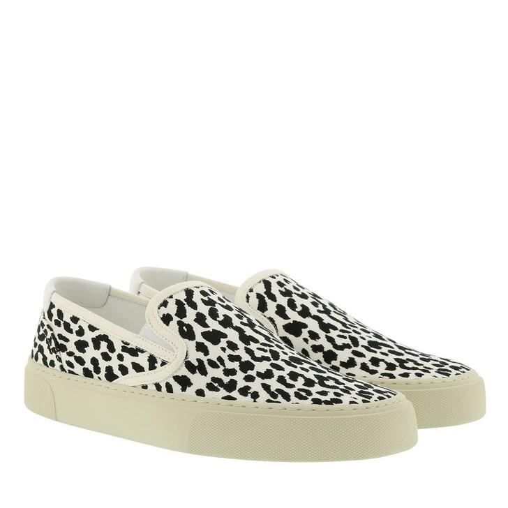 Schuh, Saint Laurent, Slip On Sneaker Latte Black