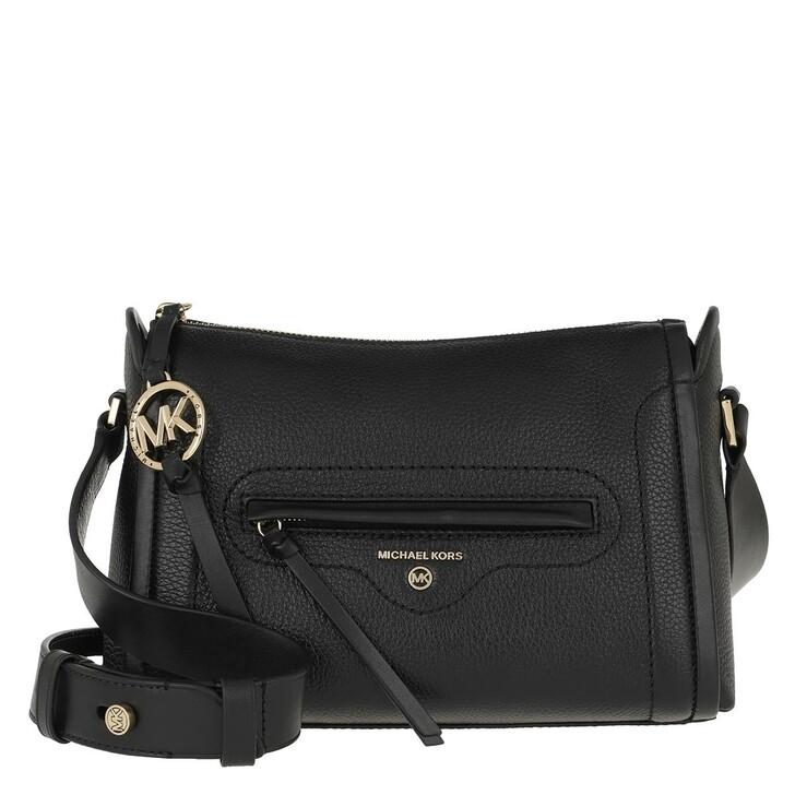 Handtasche, MICHAEL Michael Kors, Carina LG Crossbody Bag Black