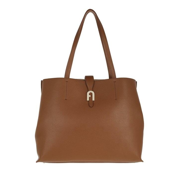 bags, Furla, Furla Sofia L Tote - Vitello St.Eracle Cognac H