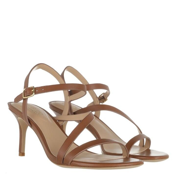Schuh, Lauren Ralph Lauren, Landyn Sandals Dress Deep Saddle Tan