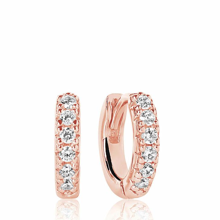earrings, Sif Jakobs Jewellery, Ellera Piccolo Earrings 18K Rose Gold Plated