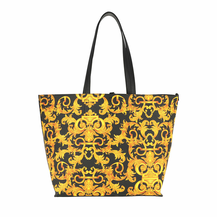 Handtasche, Versace Jeans Couture, Tote Bag Gold/Black