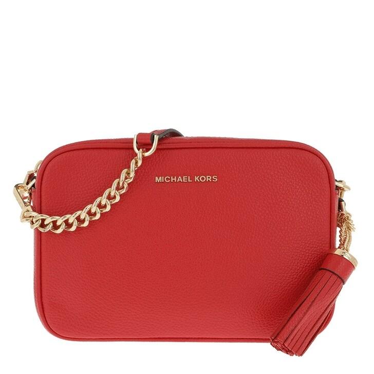 Handtasche, MICHAEL Michael Kors, Medium Camera Bag Bright Red