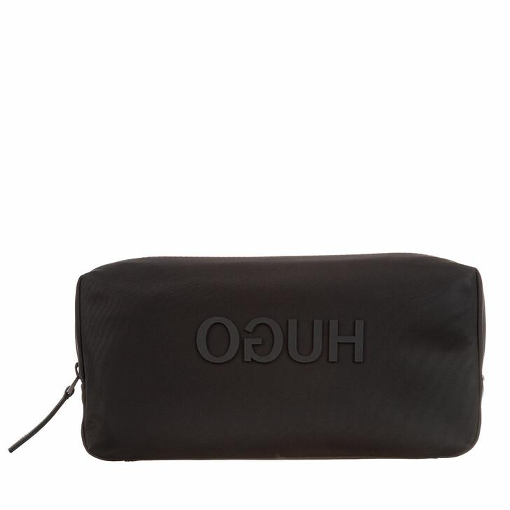 Handtasche, Hugo, Record Washbag  Black