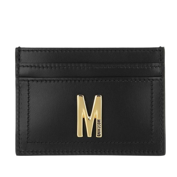Geldbörse, Moschino, Wallet Fantasia Nero