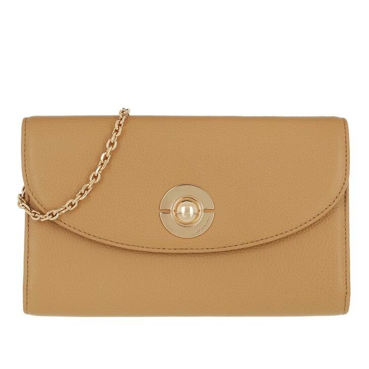 Geldbörse, Coccinelle, Wallet Leather Camel