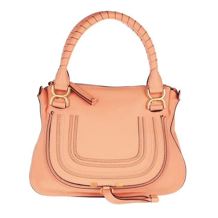 Handtasche, Chloé, Marcie Medium Shoulder Bag Peach Bloom
