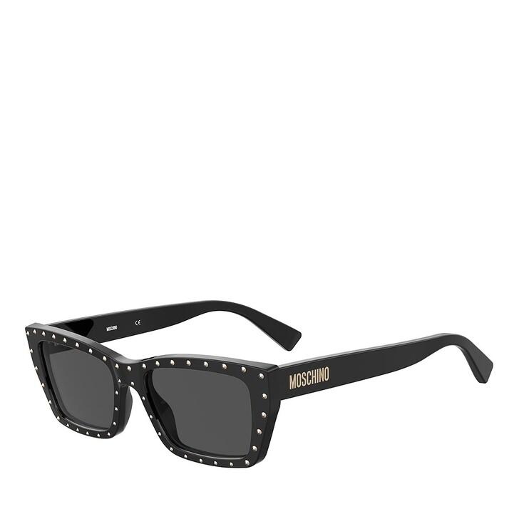 sunglasses, Moschino, MOS092/S BLACK
