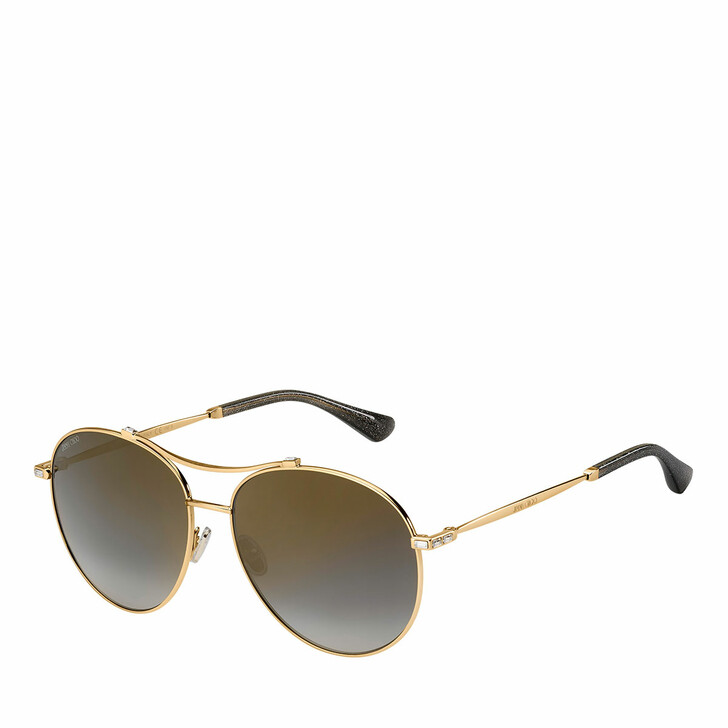 sunglasses, Jimmy Choo, Sunglasses Vina/G/Sk Gold