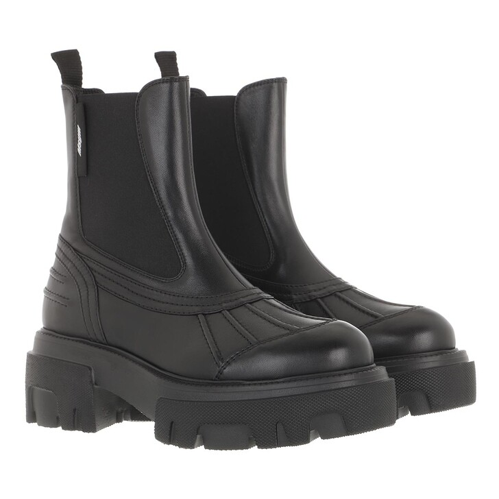 shoes, MSGM, Stivale Donna Black