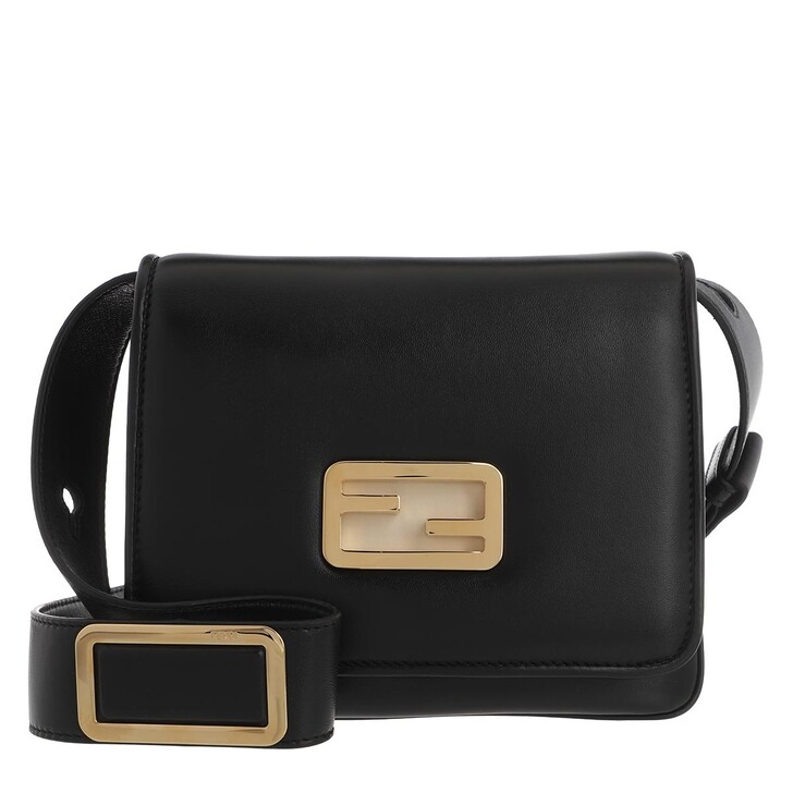 Handtasche, Fendi, ID Mini Crossbody Bag Black