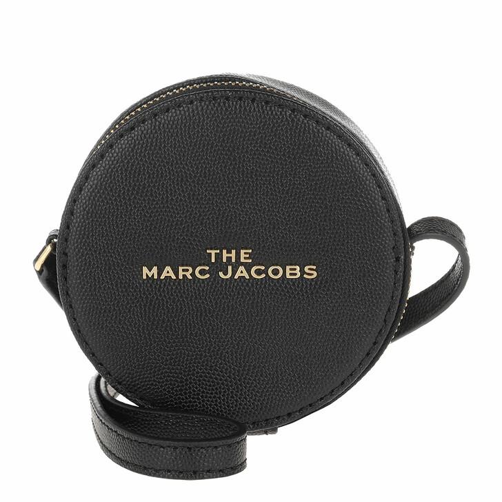 Handtasche, Marc Jacobs, The Hot Spot Medium Round Crossbody Bag Black