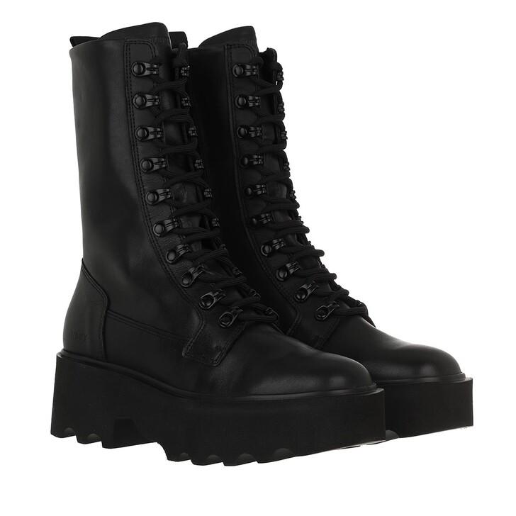 shoes, Nubikk, Fara Noir Black Leather