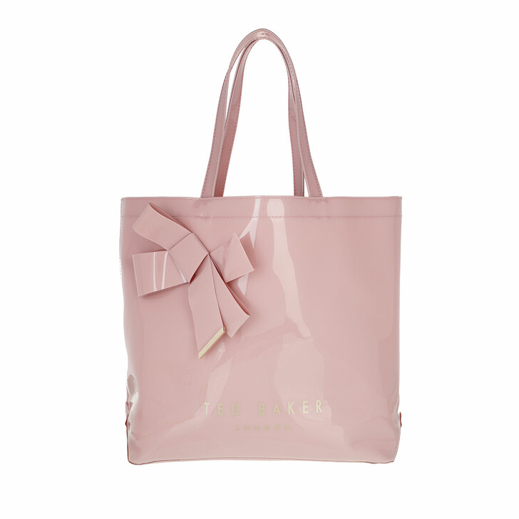 bags, Ted Baker, Nicon Knot Bow Large Icon Pale Pink