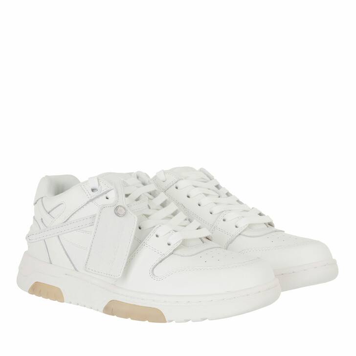 shoes, Off-White, Out Of Office Calf Leather White