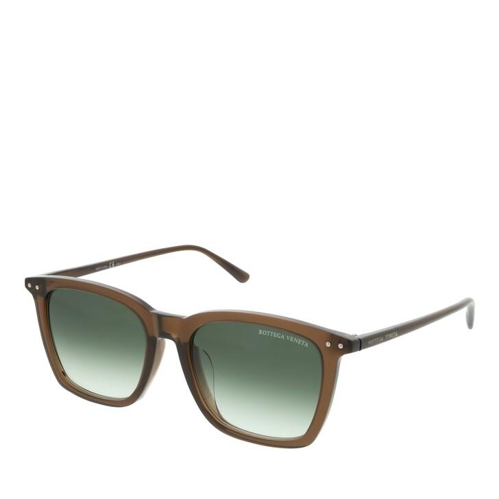 Sonnenbrille, Bottega Veneta, BV0251SA-004 53 Sunglass MAN ACETATE BROWN
