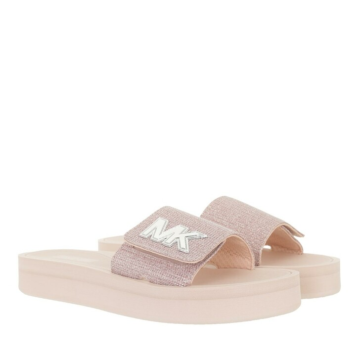 shoes, MICHAEL Michael Kors, Mk Platform Slide Soft Pink