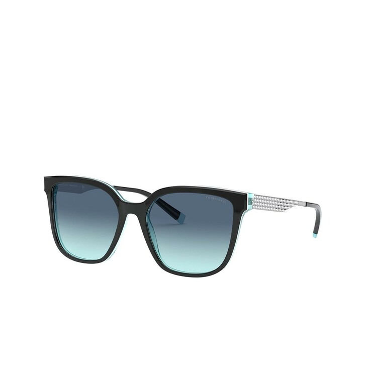 Sonnenbrille, Tiffany & Co., 0TF4165 Black/White/Blue